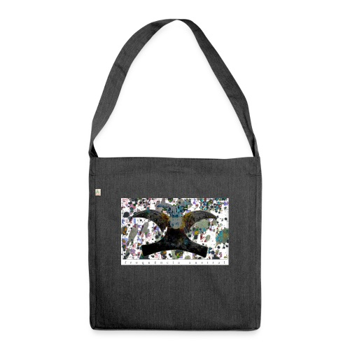 Blue Mojitos (w) - Shoulder Bag made from recycled material