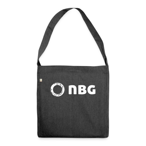 NBG Logo Icon - Schultertasche aus Recycling-Material