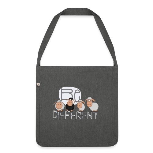 Be different Shirt: Einzigartige Schafe - Schultertasche aus Recycling-Material