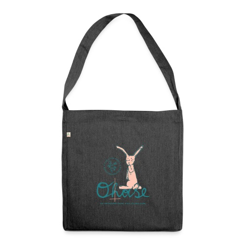 Der O(h)ase - Schultertasche aus Recycling-Material