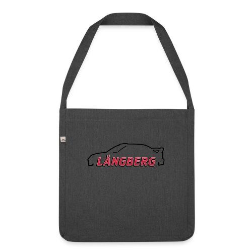 logotype Laengberg - Axelväska av återvinningsmaterial