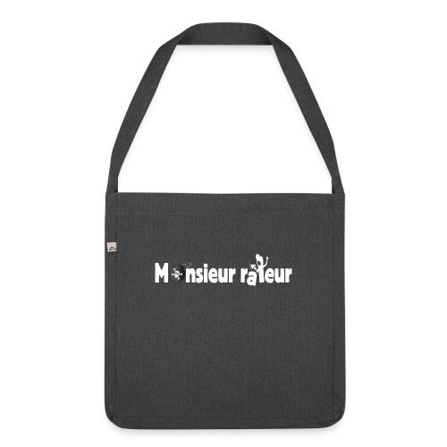 monsieur râleur - Sac bandoulière 100 % recyclé