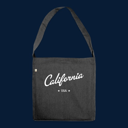 California - Schultertasche aus Recycling-Material