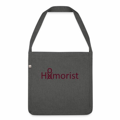 HuOmorist - Schultertasche aus Recycling-Material