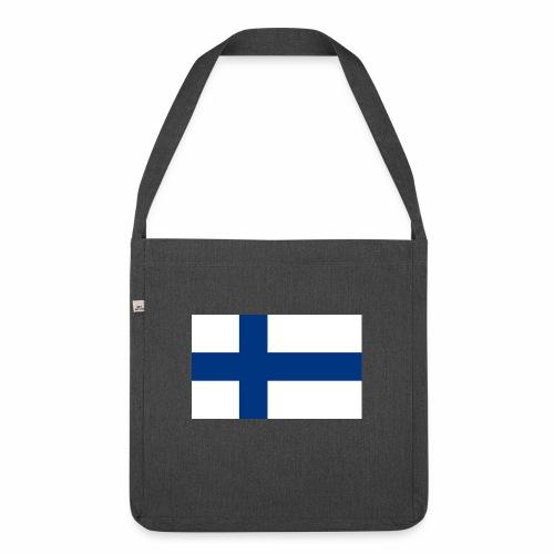 Suomenlippu - tuoteperhe - Olkalaukku kierrätysmateriaalista