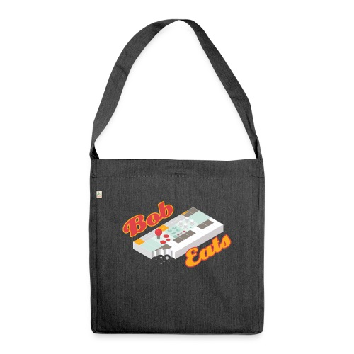 What does Bob eat? - Shoulder Bag made from recycled material