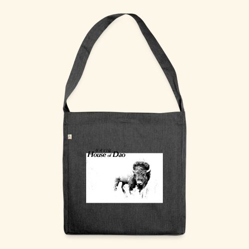 House of Dao - Buffalo BW - Schultertasche aus Recycling-Material