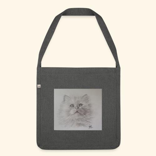 Petit chat - Sac bandoulière 100 % recyclé