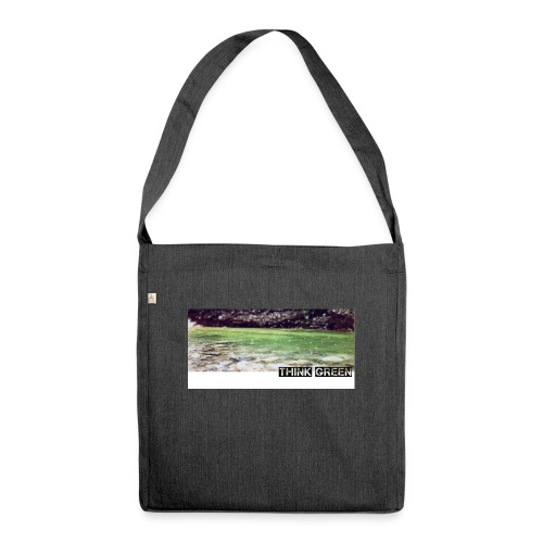 Think green - Schultertasche aus Recycling-Material