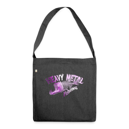 heavy metal pinklogo - Schultertasche aus Recycling-Material