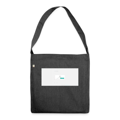 dialog - Shoulder Bag made from recycled material