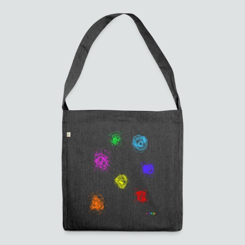 Farben png - Schultertasche aus Recycling-Material