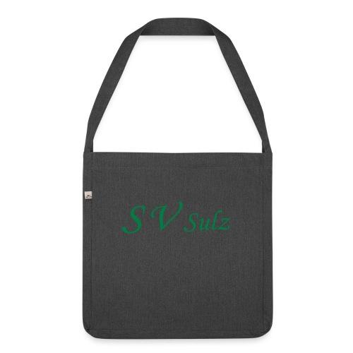 svs schrift 2 - Schultertasche aus Recycling-Material