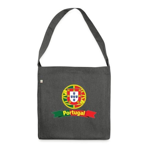 Portugal Campeão Europeu Camisolas de Futebol - Shoulder Bag made from recycled material