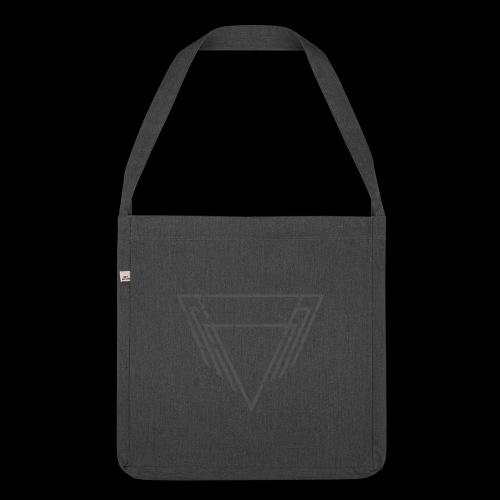 Motif Noir - Sac bandoulière 100 % recyclé