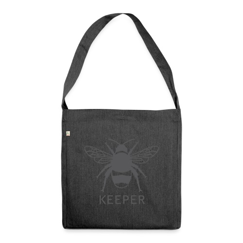 Bee Keeper - Shoulder Bag made from recycled material