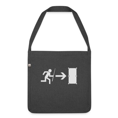 Emergency Exit Billard - Schultertasche aus Recycling-Material