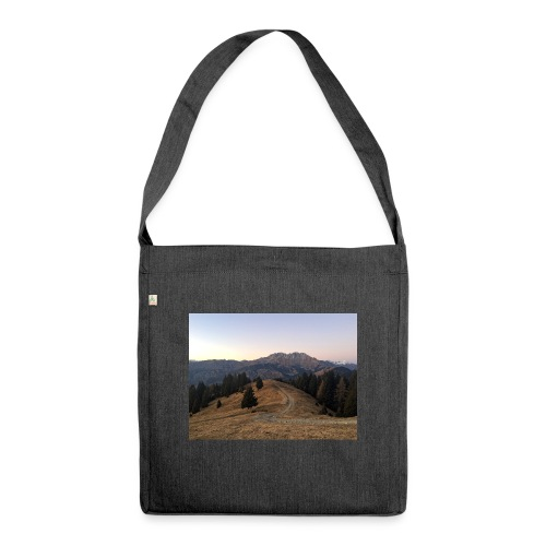 Mountain - Borsa in materiale riciclato