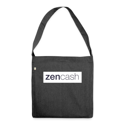 ZenCash CMYK_Horiz - Full - Shoulder Bag made from recycled material