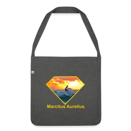 Surfer - Schultertasche aus Recycling-Material