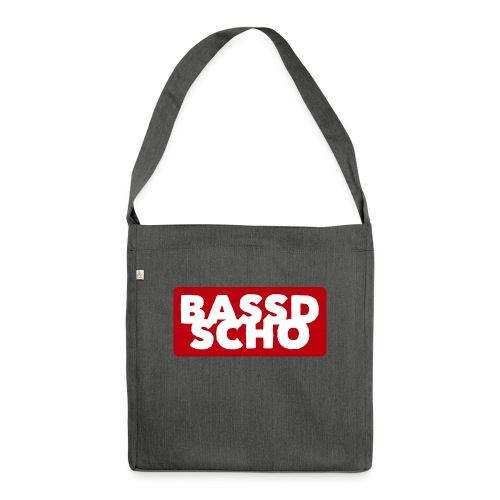 BASSD SCHO - Schultertasche aus Recycling-Material