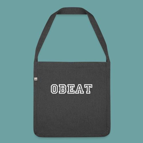 OBeat woord - Schoudertas van gerecycled materiaal