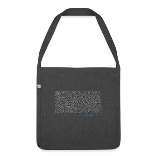 Phantom Collage // Kaskobi - Shoulder Bag made from recycled material