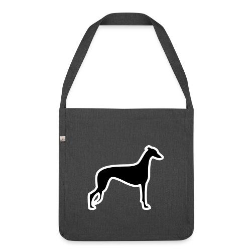 Greyhound - Schultertasche aus Recycling-Material