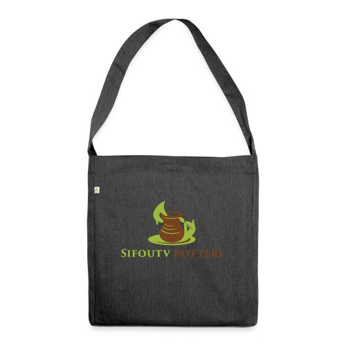 Sifoutv Pottery - Shoulder Bag made from recycled material