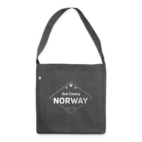 NORWAY - Shoulder Bag made from recycled material