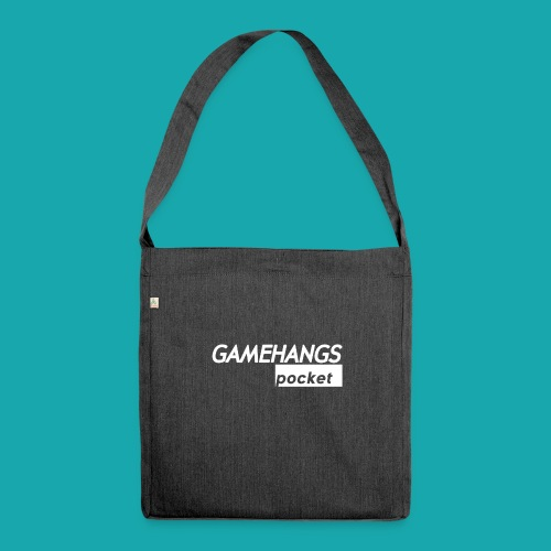 GameHangs Pocket Snapback - Shoulder Bag made from recycled material