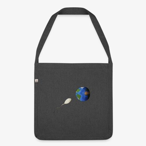 La Terre - Sac bandoulière 100 % recyclé