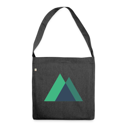 Mountain Logo - Shoulder Bag made from recycled material