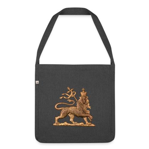 Lion of Judah Rastafari - Schultertasche aus Recycling-Material