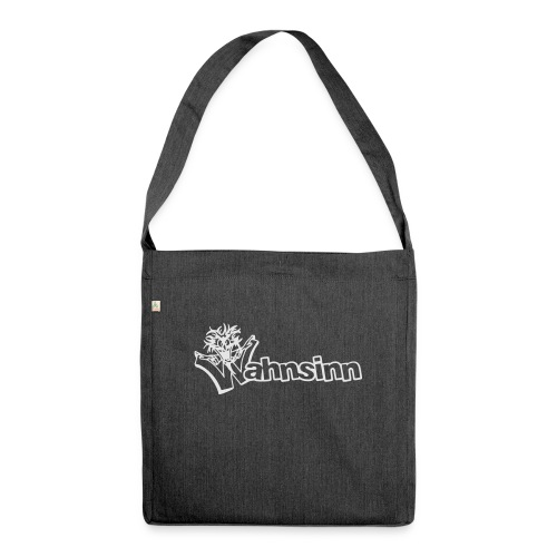 Wahnsinn Logo - Schoudertas van gerecycled materiaal