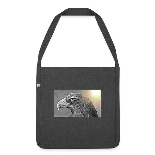 Aigle majestueux - Sac bandoulière 100 % recyclé