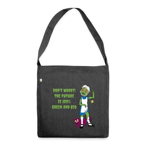 Future Green and Bio - Shoulder Bag made from recycled material