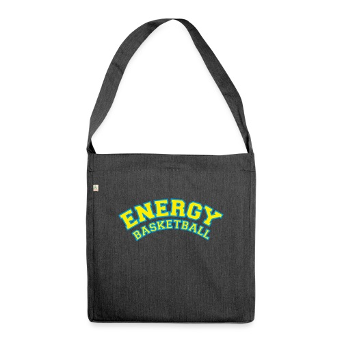 street wear logo giallo energy basketball - Borsa in materiale riciclato