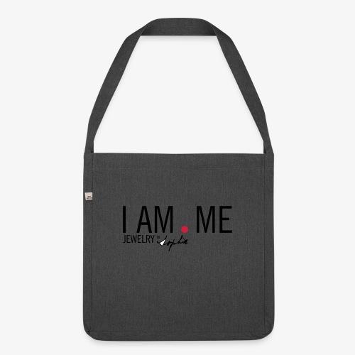 I AM . shirt - Schoudertas van gerecycled materiaal