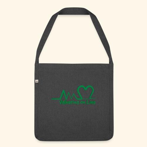logo verde Associazione Valnerina On line - Borsa in materiale riciclato