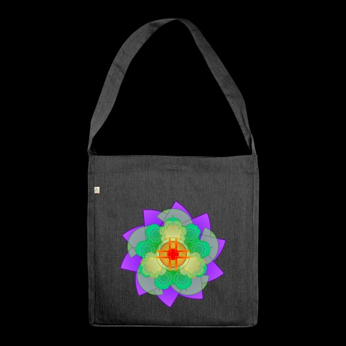mandala 2 - Shoulder Bag made from recycled material