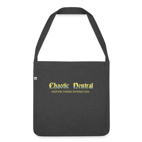 Chaotisch Neutral - Schultertasche aus Recycling-Material
