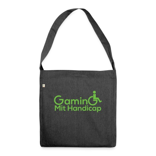 GamingMitHandicap - Schultertasche aus Recycling-Material