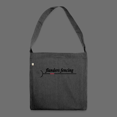 Flanders Fencing - Schoudertas van gerecycled materiaal