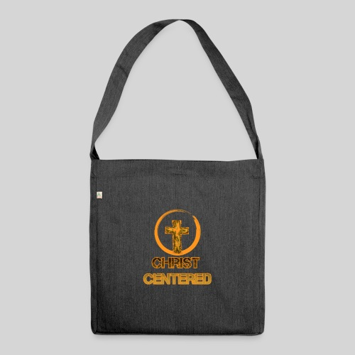 Christ Centered Focus on Jesus - Schultertasche aus Recycling-Material