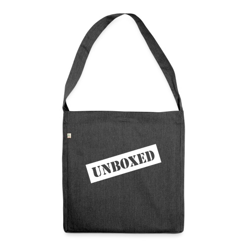 Get UNBOXED now!! by Brilliant Voices - Schultertasche aus Recycling-Material