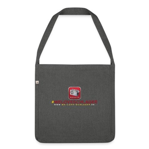 WeLoveSchlager de - Schultertasche aus Recycling-Material