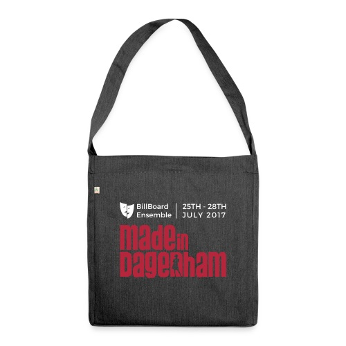 Made in Dagenham Vector - Shoulder Bag made from recycled material