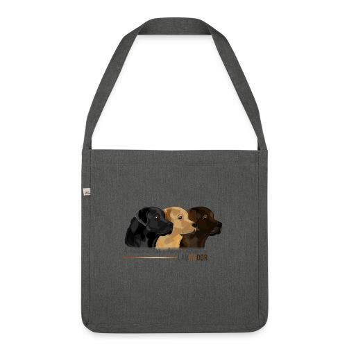 Labrador - Sac bandoulière 100 % recyclé
