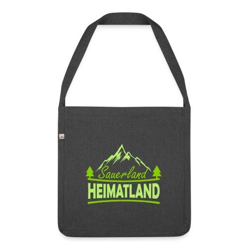 Sauerland Heimatland - Schultertasche aus Recycling-Material